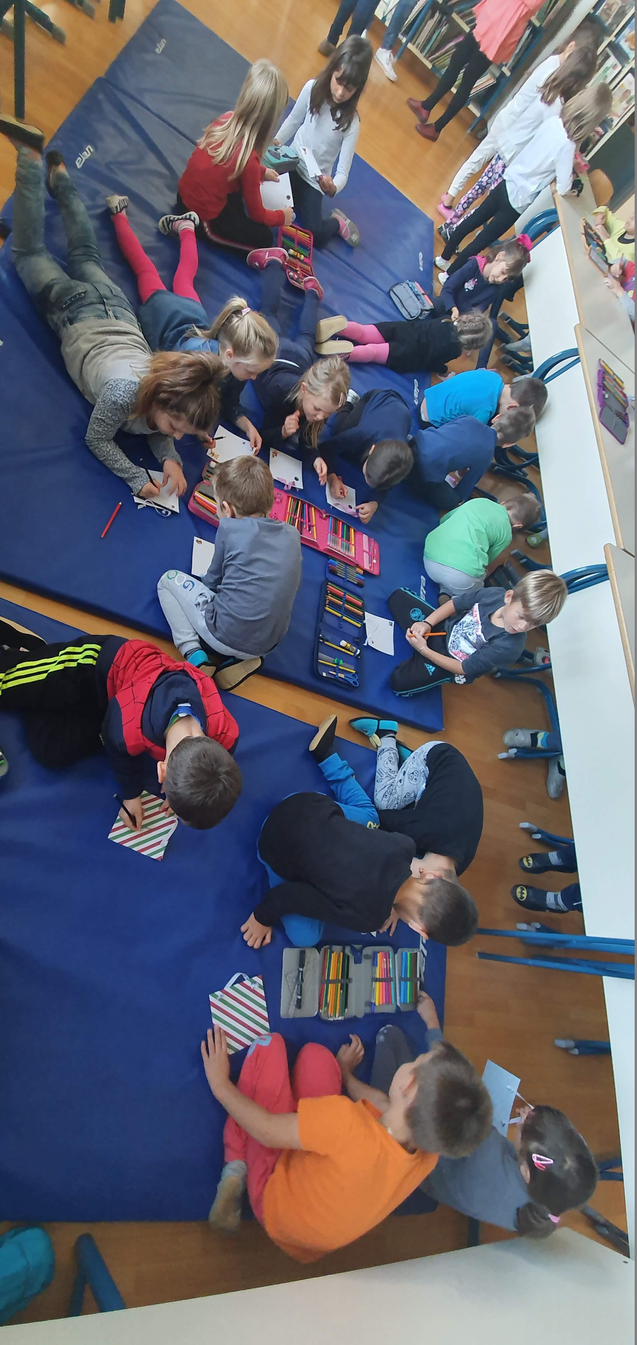 Sodelovanje z vrtcem – obisk knjižnice