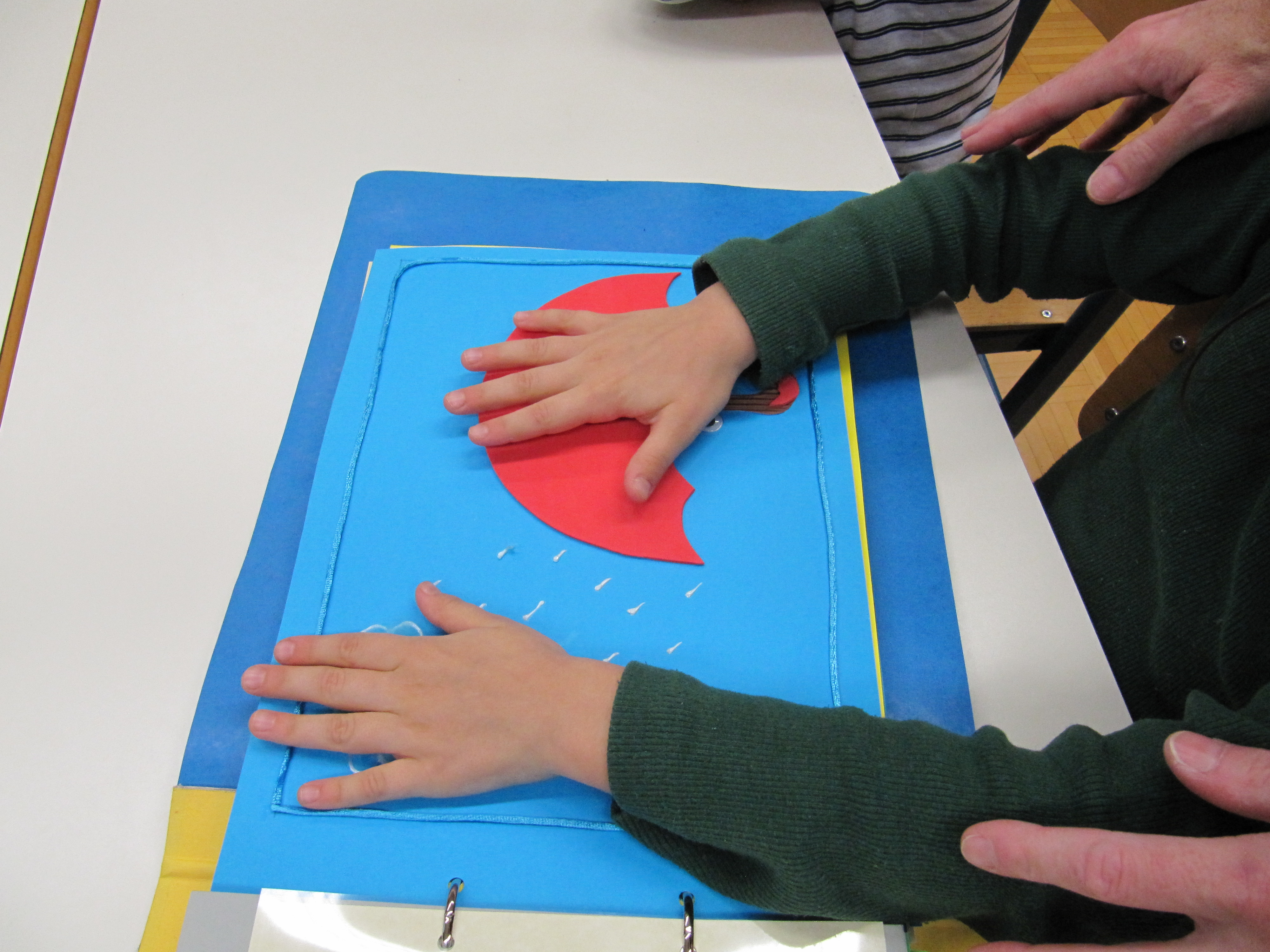 Prvošolci se učimo o slepoti in slabovidnosti