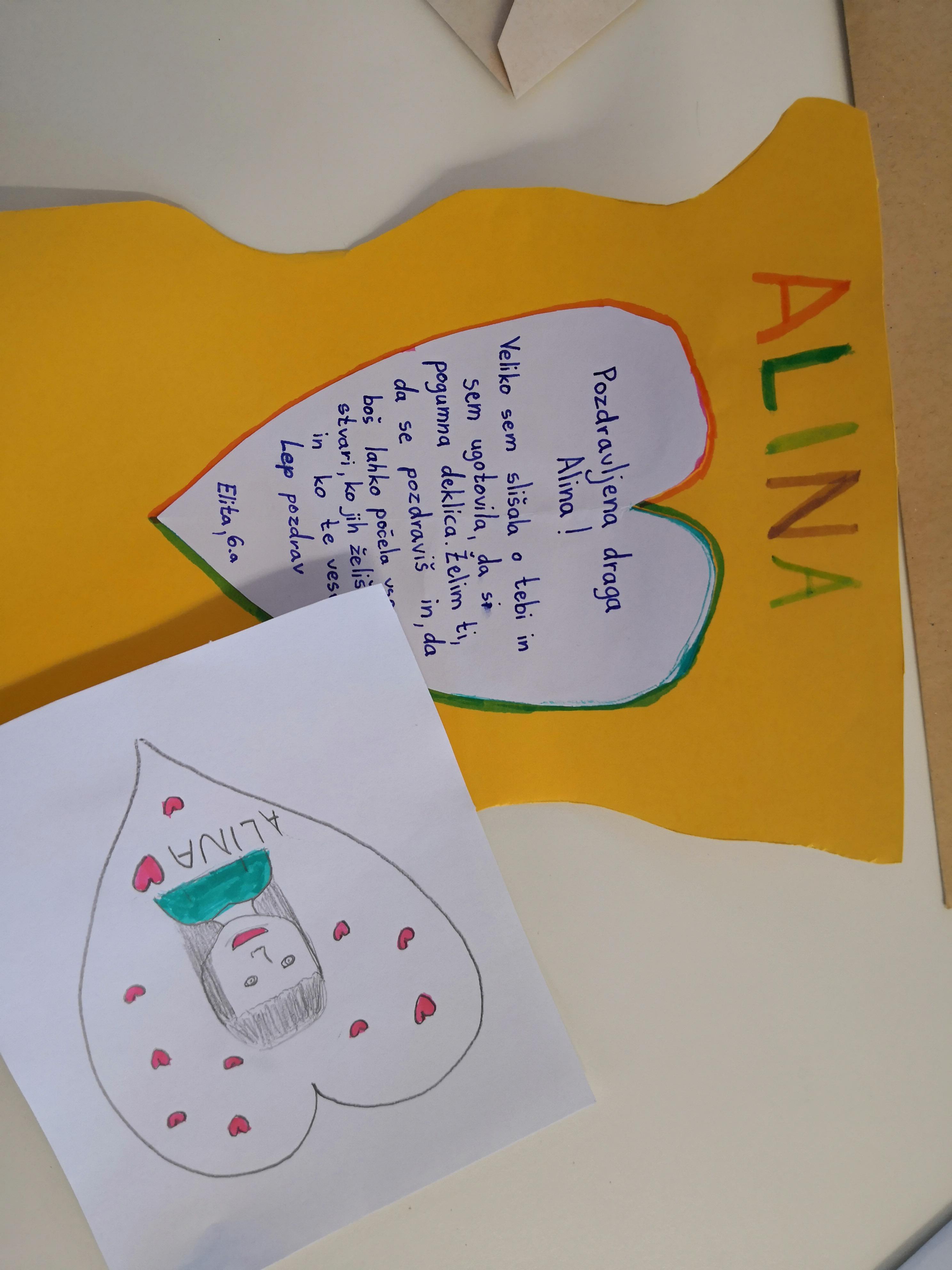 Srčna pisma za male borce