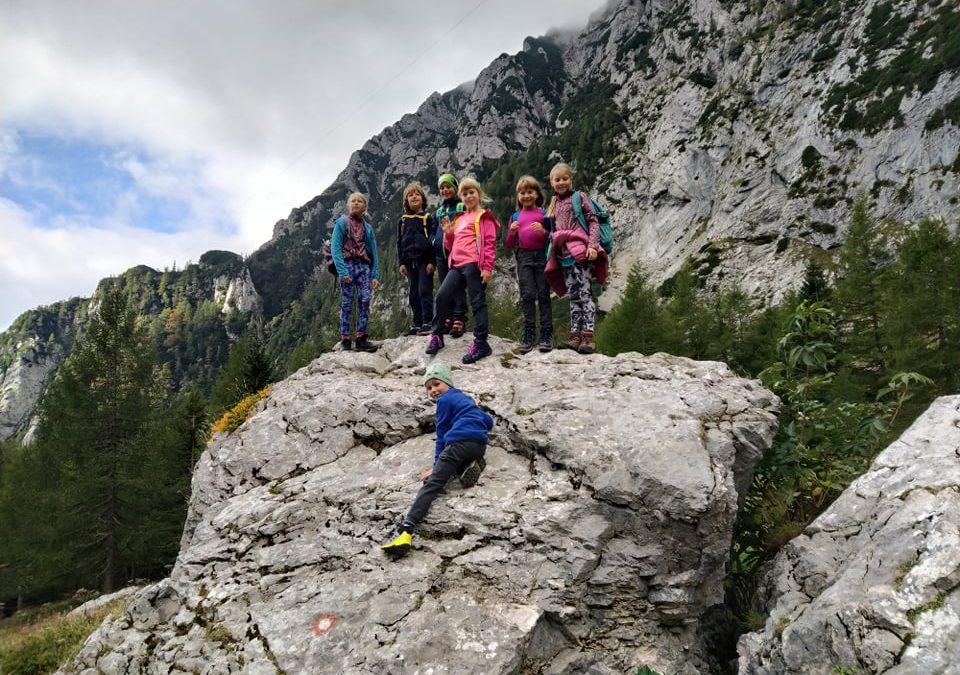 V Kamniško Savinjskih Alpah